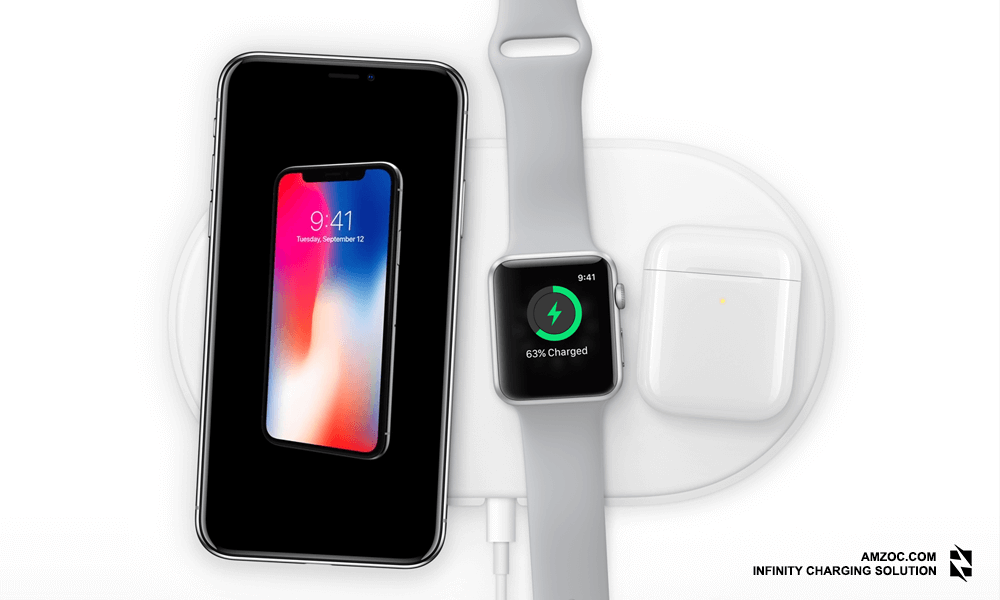 The iPhone X Supports Qi Wireless Charging