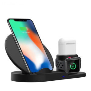 3 In 1 Fast Charging Qi Wireless Charger