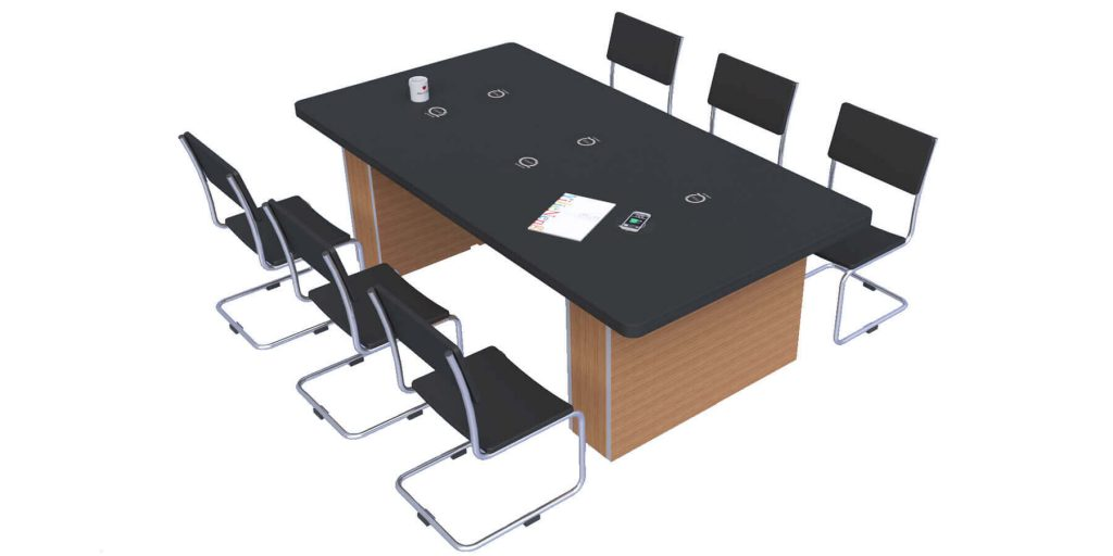 Wireless Charging SMART OFFICE SOLUTIONS